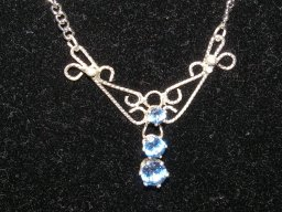 Triple Filigree Necklace