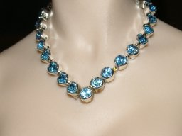 Aqua V Necklace