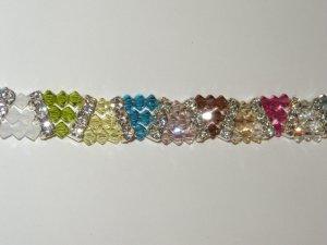 Swarovski Crystal Triangle Bracelet