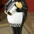 "28"" Tall Garcon Waiter Wine Bottle Holder Fat Waiter"