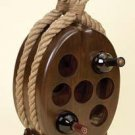 Tabletop WOOD-ROPE WINE RACK