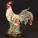 """CERAMIC FRENCH ROOSTER 12""""H, 9""""W"""