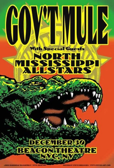 North Mississippi Allstars Tour Poster