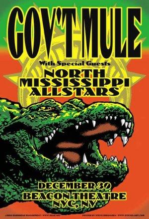 Gov't Mule 12.30.06 with North Mississippi Allstars, Gator Image
