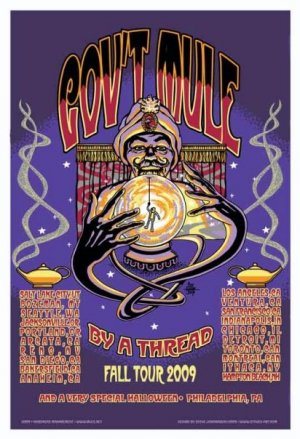 GOV'T MULE - FALL 2009