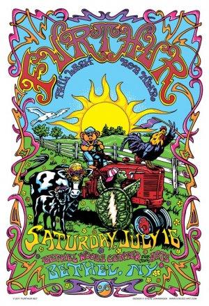 Furthur Bethel,NY 7-16-2011 Poster
