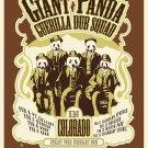 Giant Panda Guerilla Dub Squad 2015 Colorado
