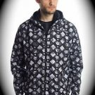NEW nwt TAKESHY KUROSAWA Men Jacket/Hoodie US Size S/Small ITALY/ITALIAN Black