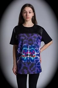 NEW nwt BLIZEDOUT Women T Shirt/Sweatshirt RARE Size L/LRG/Large ITALY/ITALIAN