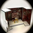 V. Rare CHANEL Collectible No 5 Eau de Parfum/Perfume Miniature VIP GIFT New NIB