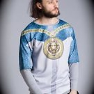 NEW nwt BLIZEDOUT Men LION/CHAIN T Shirt/Sweatshirt Size S/Small ITALY/ITALIAN