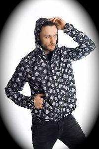 NEW nwt TAKESHY KUROSAWA Men Jacket/Hoodie US XS/Extra Small ITALY/ITALIAN Black