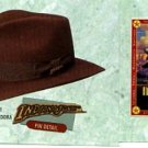 KIDS INDIANA JONES HAT Crushable Wool Fedora CHILD SIZE