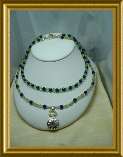 Stunning Peridot and Amethyst