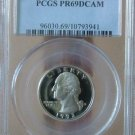 1993-S Washington Quarter PR69DCAM PCGS!!!
