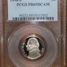 1996 S Jefferson Nickel  PR69DCAM  PCGS!!!