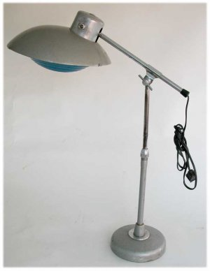 FRENCH  MODERNIST SOLERE DESK  LAMPE MOUILLE JIELDE