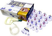 KangZhu Bio Magnetic 24 Cups Acupuncture Suction Cupping