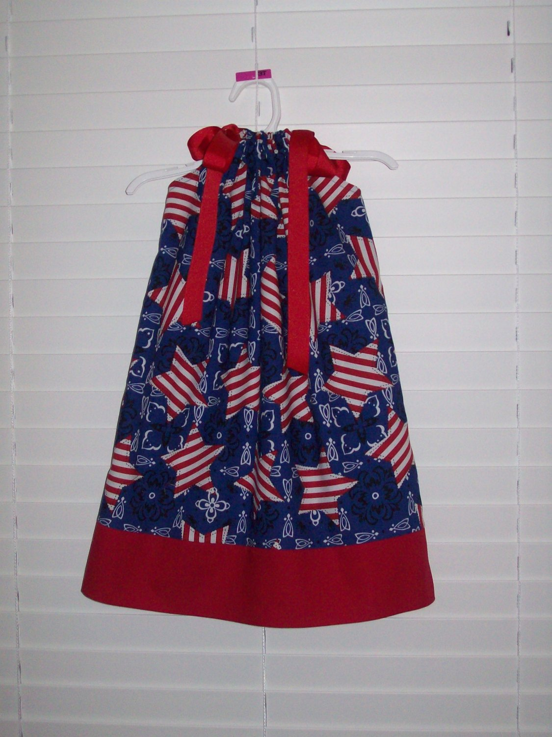 Patroitic 4th of July Pillowcase Dress