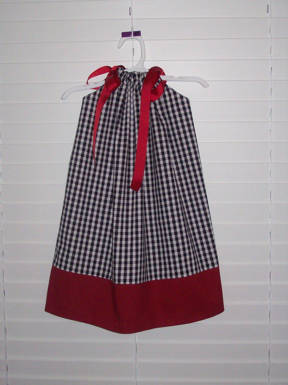 Alabama Crimson Tide Pillowcase Dress