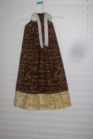 "Christian ""Praise"" Worship Pillowcase Dress"