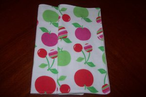 Tossed Cherries Unpaper Towel Set (Set of 2)