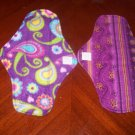 Set of 2 Cloth Menstrual Pads