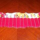 Baseball Crayon Roll, Holds 16 Crayons