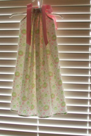 Frog Pillowcase Dress