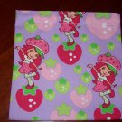 Strawberry Shortcake Reusable Sandwich Snack Bag