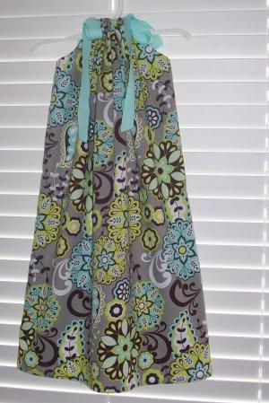 Boutique Grey Paisley Pillowcase Dress