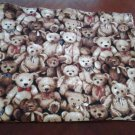 Teddy Bear Reversible Baby Blanket