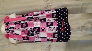 Minnie Mouse Pillowcase Dress w/Monogramming