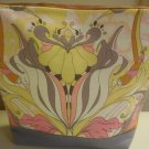 Yellow Parrot Cosmetic Bag