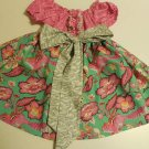 Chipper Peasant Dress, Size 2T