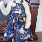 Gorgeous Scalloped Halter Dress, Size 5