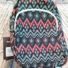 Gray Motif Backpack