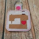 Sewing Machine Key Fob