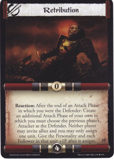 Retribution (L5R) - Near Mint