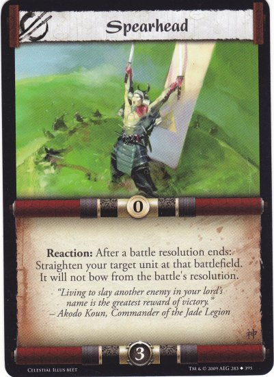 Spearhead  (L5R) - Near Mint