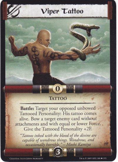 Viper Tattoo (L5R) - Near Mint