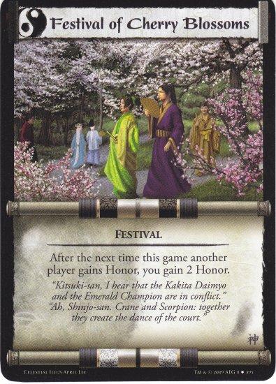 Festival of Cherry Blossoms (L5R) - Near Mint