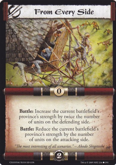 From Every Side x3  (L5R) - Near Mint