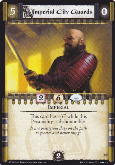 Imperial City Guards x3 (L5R) - Near Mint