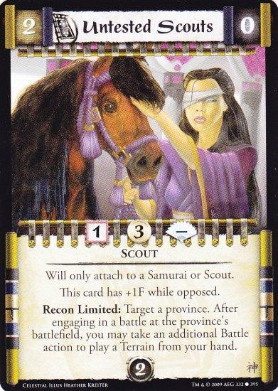 Untested Scouts x3 (L5R) - Near Mint