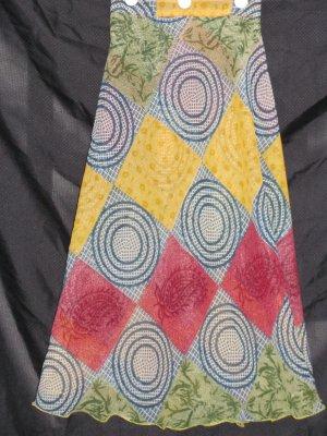 P2602 Preteen/Girls Reversible Sari Wrap Skirt
