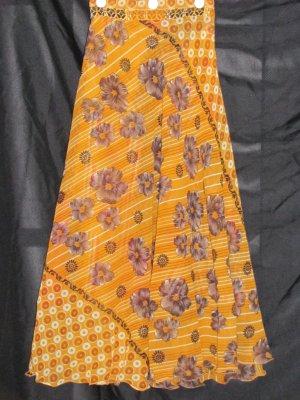 S3421 Small Reversible Sari Wrap Skirt