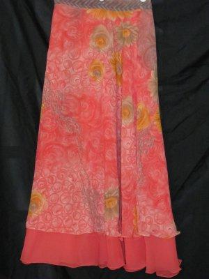 M3721 Medium Reversible Sari Wrap Skirt