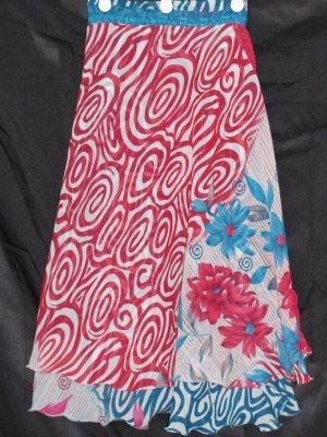 P2605 Preteen/Girls Reversible Sari Wrap Skirt