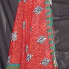 P2607 Preteen/Girls Reversible Sari Wrap Skirt